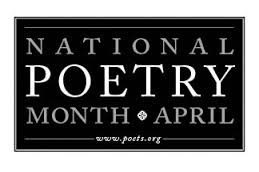 National Poetry Month logo and link