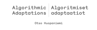 Screenshot of AlgorithmicAdaptations