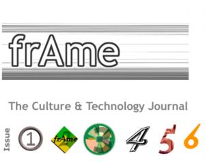 frAme journal cover